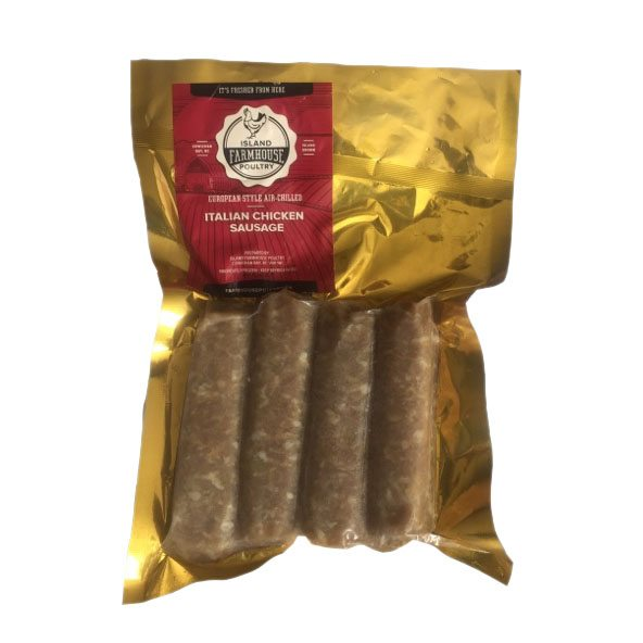 Island Farm House italian chicken sausage product